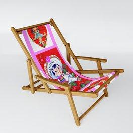 Be Mine, Valentine. Sling Chair