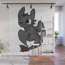 Toothless Wall Mural