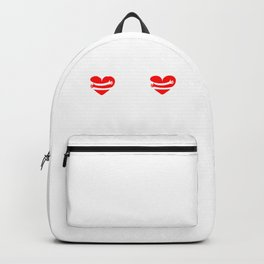 Self Care Is My Valentine Funny Valentine's Day Backpack
