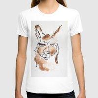 llama T-shirts featuring Llama by Bryan McKinney