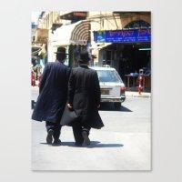 israel Canvas Prints featuring israel by addie belle