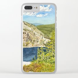 THE HIGH COUNTRY Clear iPhone Case