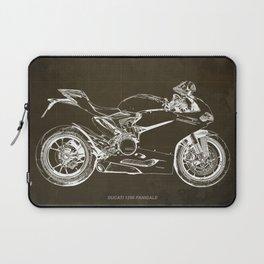 01- D Superbike 1299 Panigale 2015 BROWN Laptop Sleeve