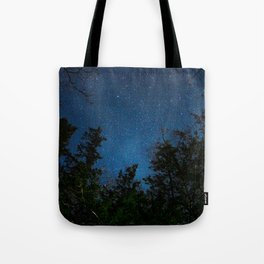 Stars above the Forest Tote Bag