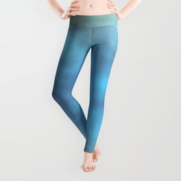 Triangle Of Abstract Colorful Leggings