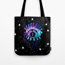 Left Eye of Space Kami Tote Bag