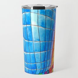 I go out with you(tube). You go out with me(ssenger)? Travel Mug
