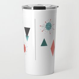 Mid Century Modern Design Travel Mug