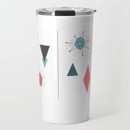 Mid Century Modern Design Travel Mug