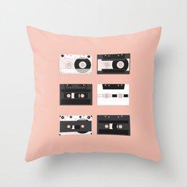 Cassette Pattern #3 Throw Pillow