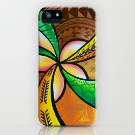 Abstract Pua iPhone Case