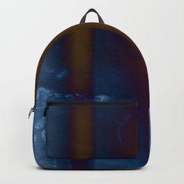 Burned Copper andBlue Graident Backpack