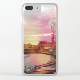 Seeing Another World - ReMix Clear iPhone Case