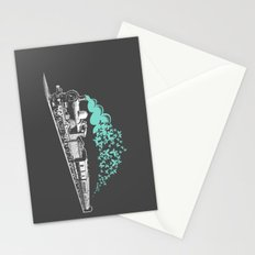 Butterfly Train Stationery Cards