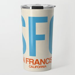 SFO San Francisco Luggage Tag 1 Travel Mug
