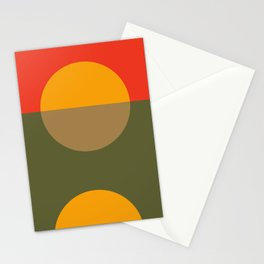 Spring- Pantone Warm color Stationery Cards
