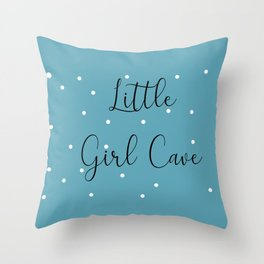 Lil Babe Cave Little Babe Cave Throw Pillow