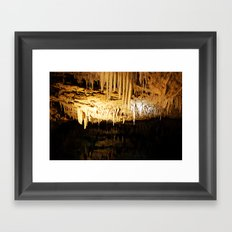Cave Dwelling Framed Art Print