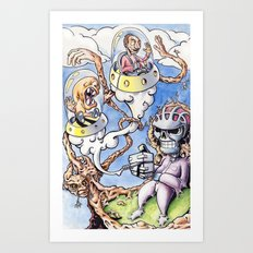 Nightman Cometh Art Print