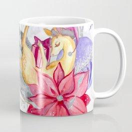 Merry Christmas, Deer Coffee Mug