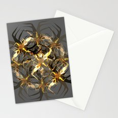 Earth Brown Insect Stationery Cards