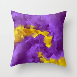 little sqares and rectangles pattern -7- Throw Pillow