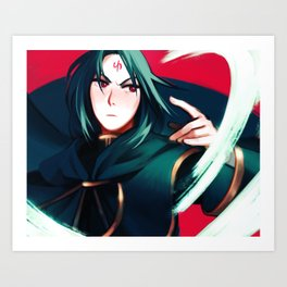 Strategist Art Print