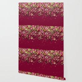 Purple drooping flowers Wallpaper