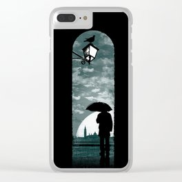 venetian alley Clear iPhone Case
