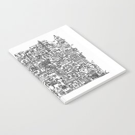 Busy City V Notebook