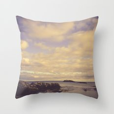 Her Dreams Stretched as Far as the Sea Was Wide Throw Pillow