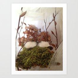 Fairy Furniture  Art Print