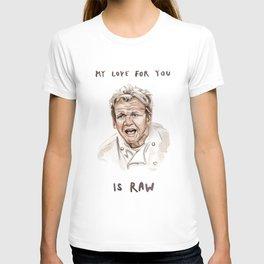 Gordon Ramsay - It's RAW Illustration T-shirt