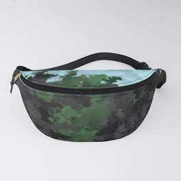 The rocky cliffs Fanny Pack