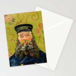 Vincent van Gogh - The Postman Stationery Cards