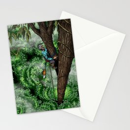 Flip Lining Stationery Cards