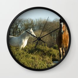 Beacon Horses Wall Clock