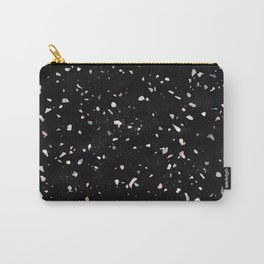Terrazzo Memphis black galaxy Carry-All Pouch