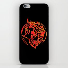 Ember Knight iPhone Skin