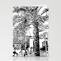 palm tree Stationery Cards featuring Palm tree by ArteGo