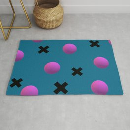 Exes and Spheres Rug
