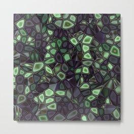 Fractal Gems 04 - Emerald Dreams Metal Print