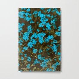 Forget Me Not - Spring Blooms Metal Print