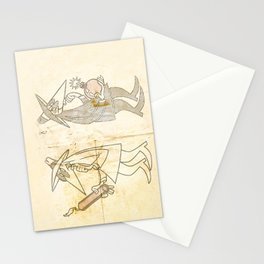 Spy vs. Spy Stationery Cards