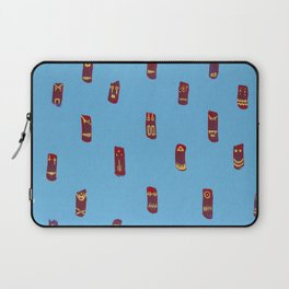 Monsters totems pattern Laptop Sleeve
