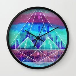 The Lost City Wall Clock