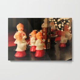 Christmas Choir Metal Print