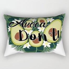 Avoca-Don't Rectangular Pillow