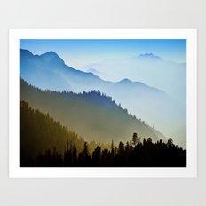 Alps XCI Art Print