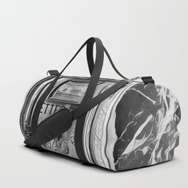 You've Got Mail - Black & White - Graphic Duffle Bag